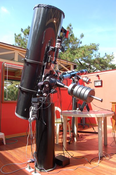 Notes on a Homebuilt 16 inch Newtonian - 1